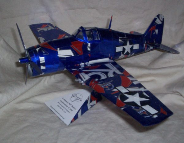 soda can airplane Hellcat