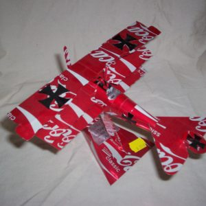 Soda Can airplane Fokker Dr1