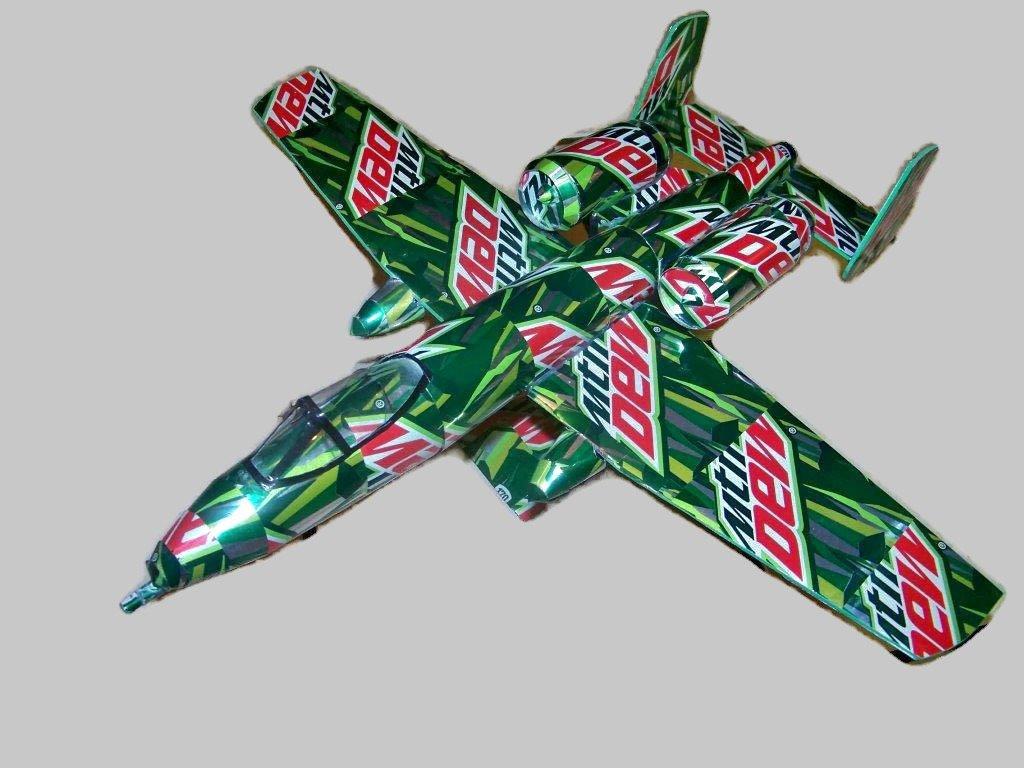 soda can A-10 warthog