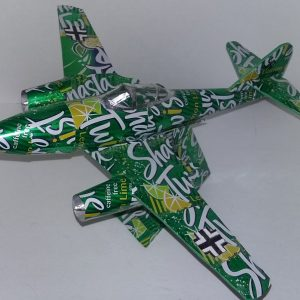 soda can airplane Me-262
