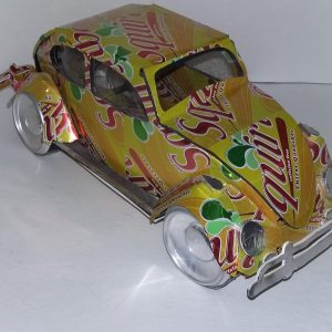 soda can VW Beetle