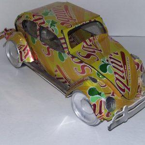 soda can VW Beetle