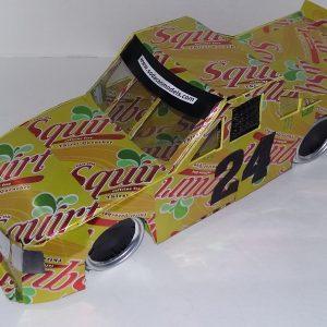 soda can NASCAR Truck