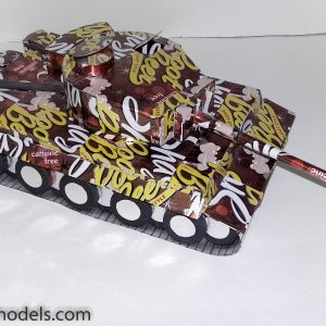 Soda Can Tiger Tank