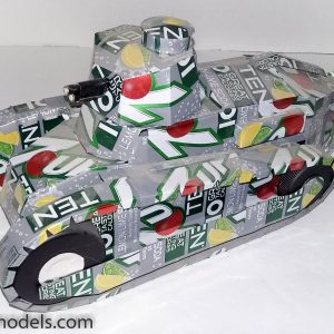 soda can Ft-17 French tank