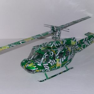 soda can Bell uh1 helicopter