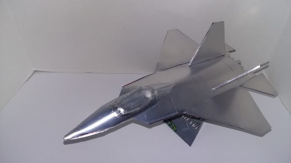 soda can F-22 Raptor