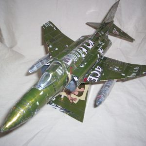 Soda can F-4 Phantom