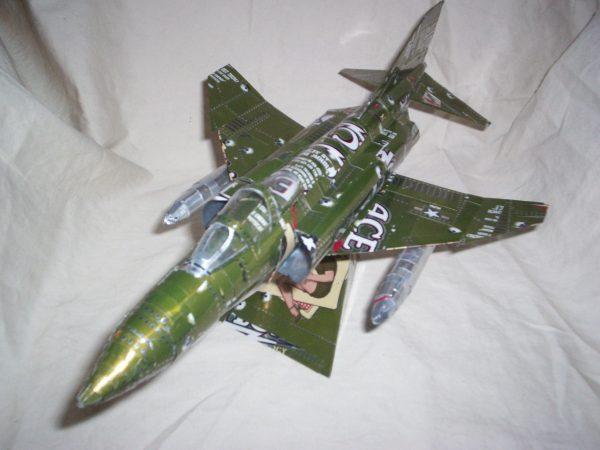 Soda can F-4 Phantom