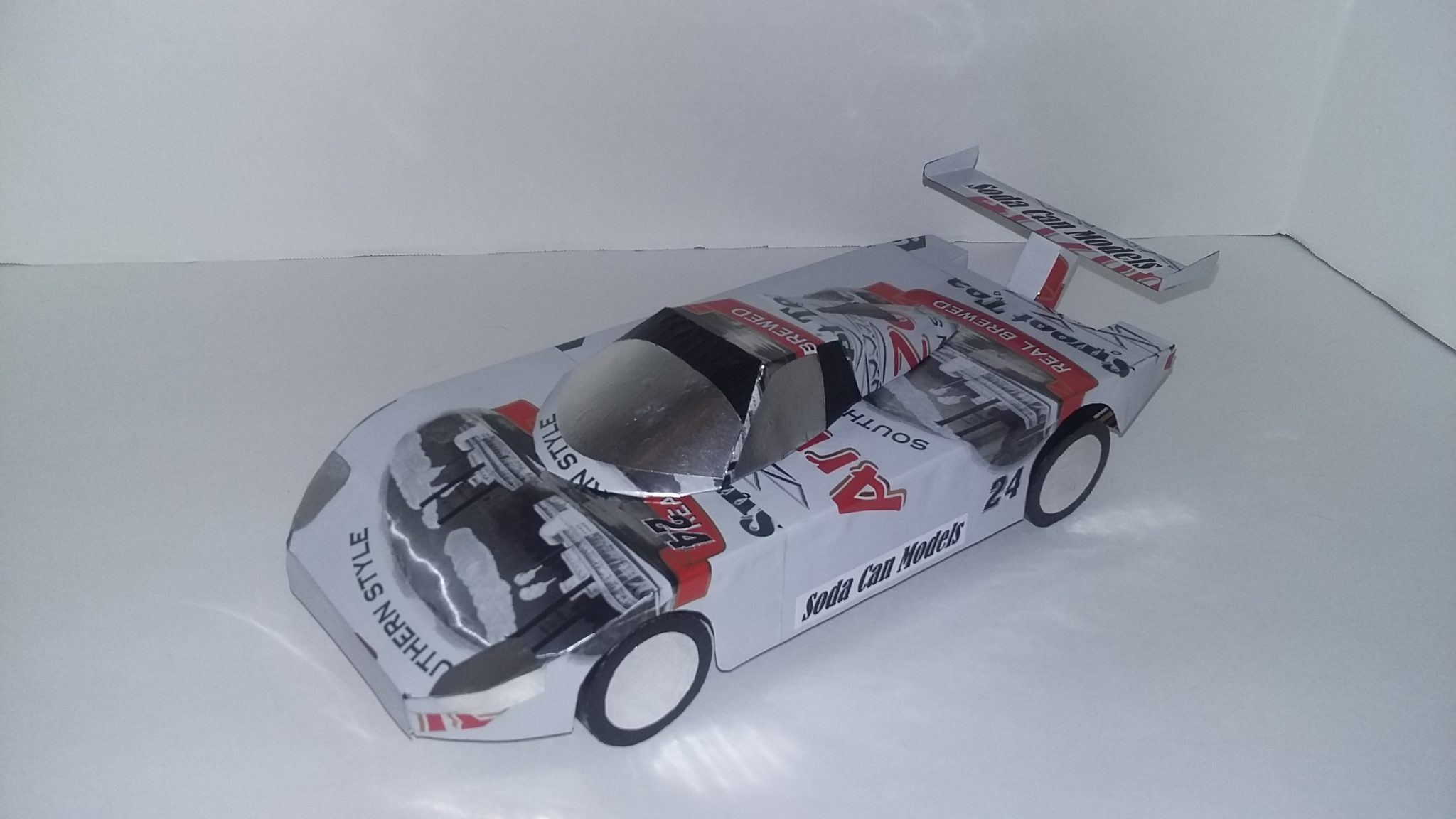 soda can GT championship racing car