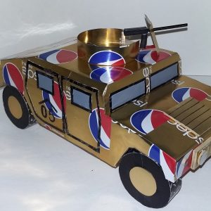 soda can AM General HUMVEE