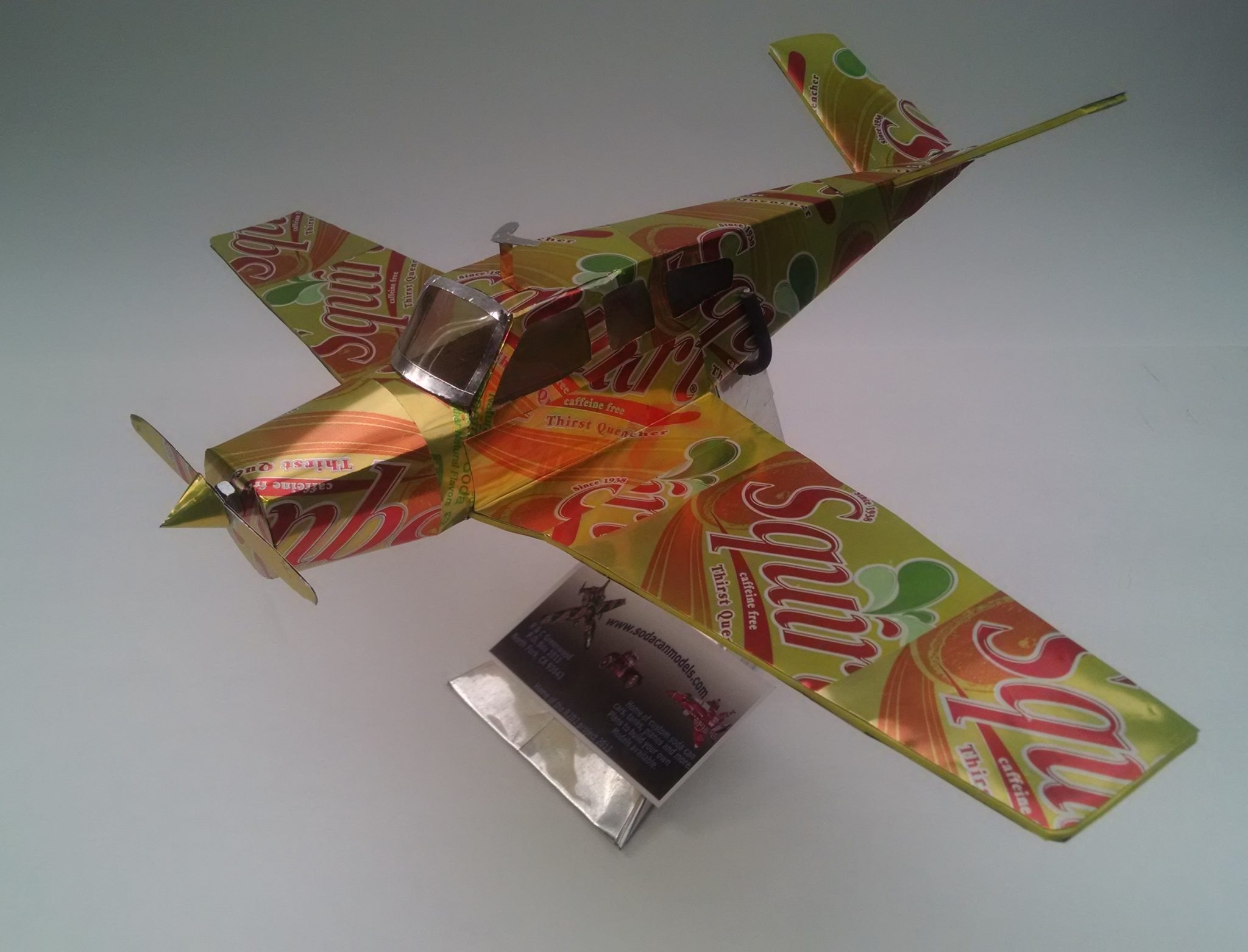 soda can airplane beechcraft bonanza
