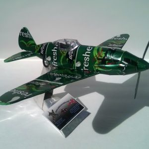 soda can airplane Mig 3