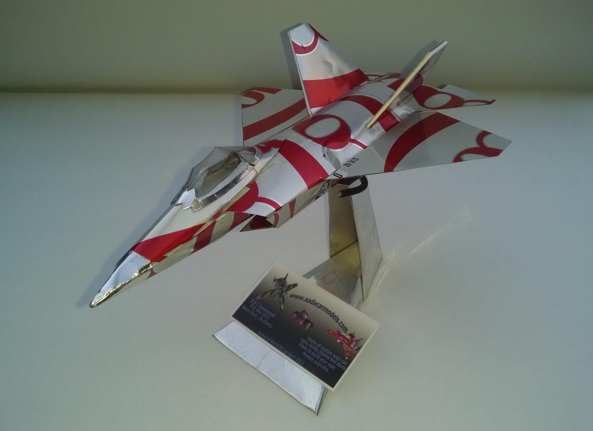 soda can F-22