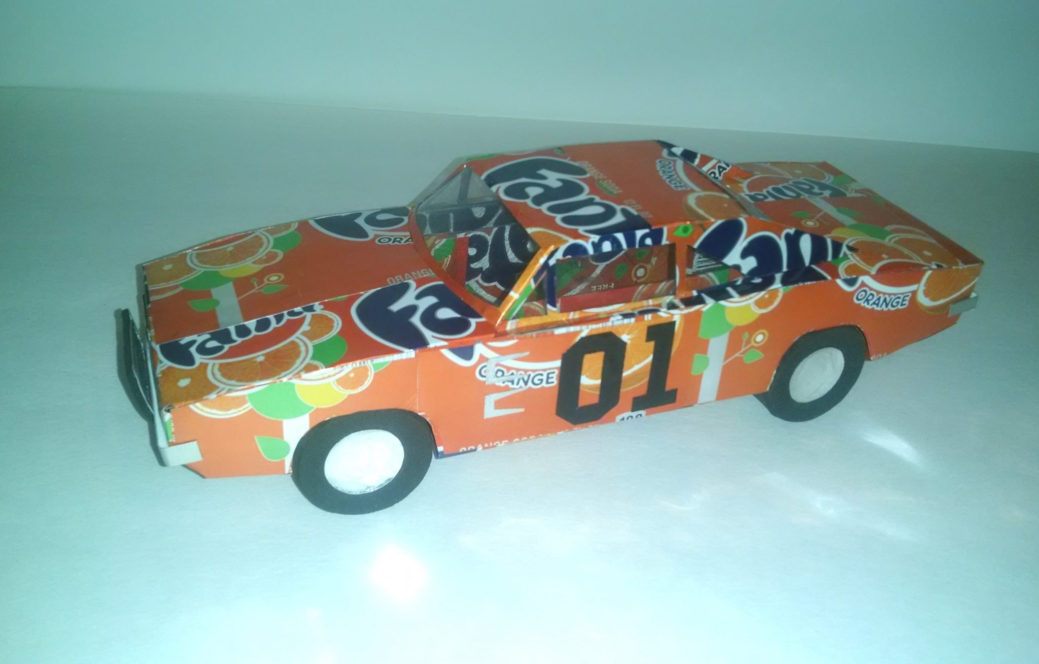 soda can Dukes of Hazzard