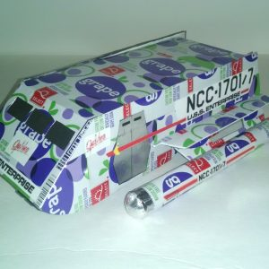 soda can Galileo shuttlecraft