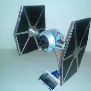 soda can Tie Fighter