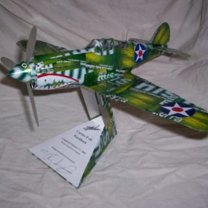 Beer Can airplane instructions Curtiss P-40 Warhawk