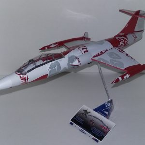 soda can airplane F-104 starfighter