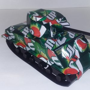 soda can sherman tank