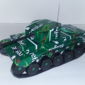 soda can Cromwell tank