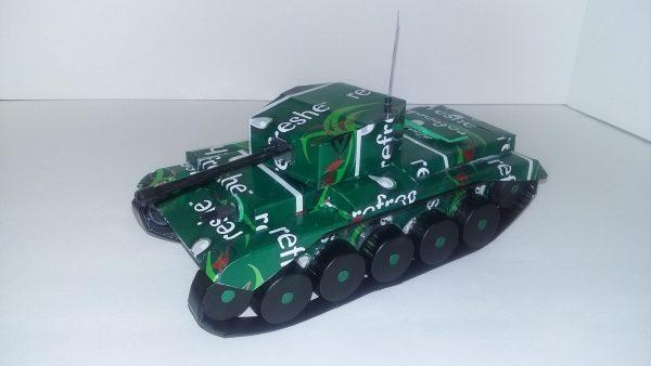 soda can Cromwell tank