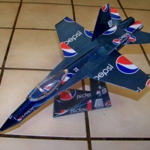 soda can F-18 Hornet