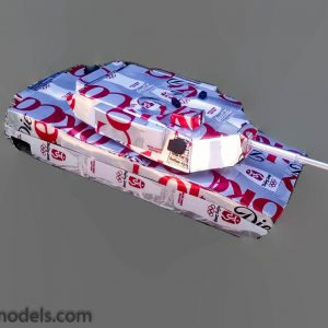 soda Can M1 Abrams Tank