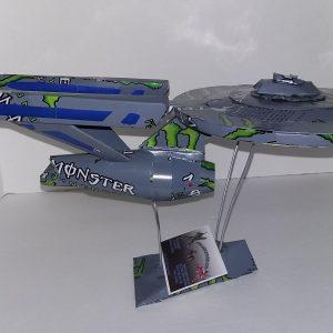 soda can starship Enterprise