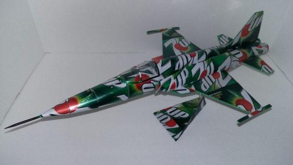 soda can F-5E Tiger 2