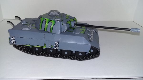 soda can Panther Tank