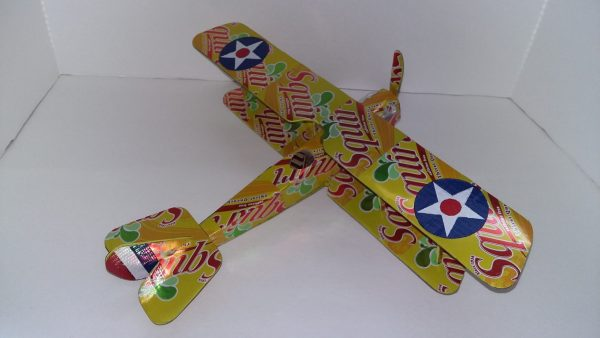 soda can airplane Curtiss Jenny
