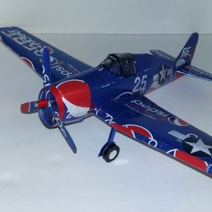 soda can airplane Grumman Hellcat