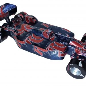soda can Formula 1 racing car