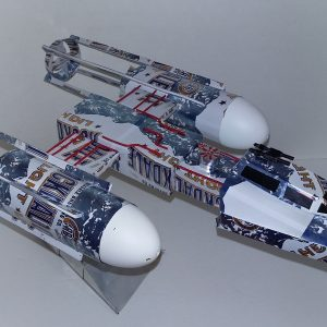 soda can Y-wing Starfighter
