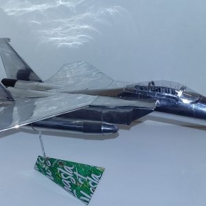 soda can airplane F-15 Eagle