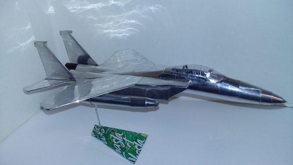 soda can airplane F-15 Eagle