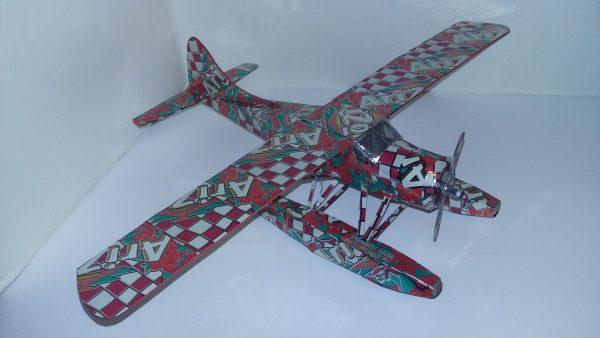 soda can DH-2 Beaver float plane
