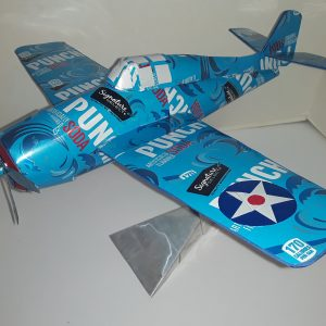 Aluminum can model Grumman Wildcat